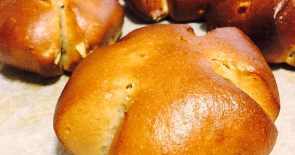 大豆粉で作る胡桃パン