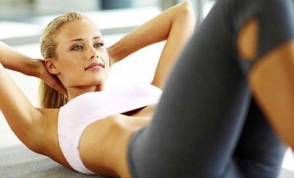お腹ダイエット2:腹筋運動