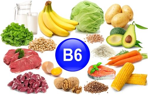 むくみ に 効く 食べ物⑤ビタミンB6